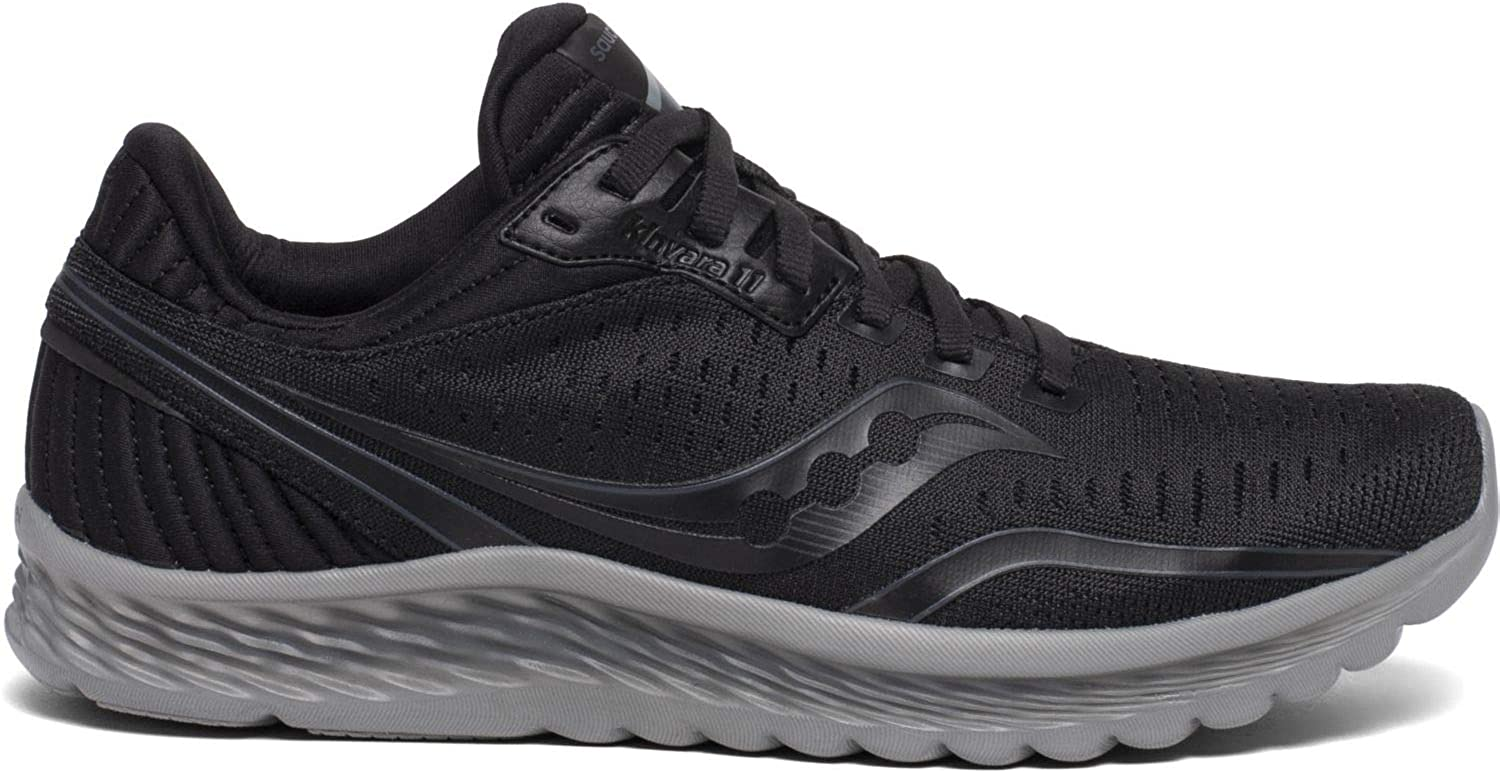 Saucony Men s S20551-35 Kinvara 11 Running Shoe, Blackout – 10 M US