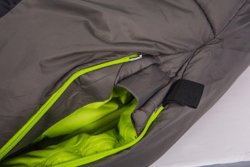 sacos de dormir Freetime Micropak AKC-Saco de dormir grande fr/ío .-19 /°C dise/ño de la monta/ña