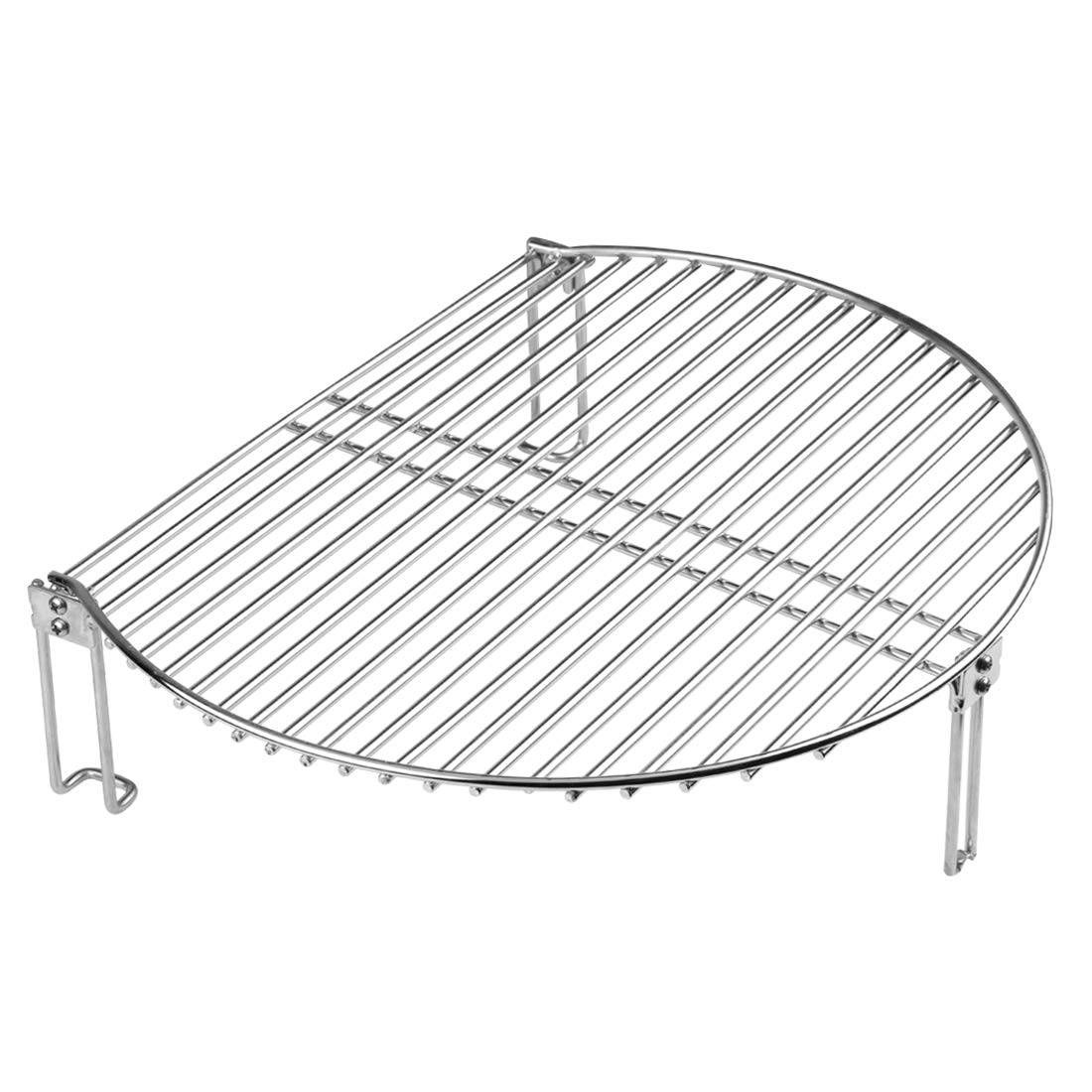 Dracarys Grill Expander Rack Stack Rack for Big Green Egg Stainless Steel BBQ Lover Gifts Fit Large & XL Big Green Egg, Kamado Joe,18'' or Bigger Diameter Grill,Increase Grilling Surface by Dracarys