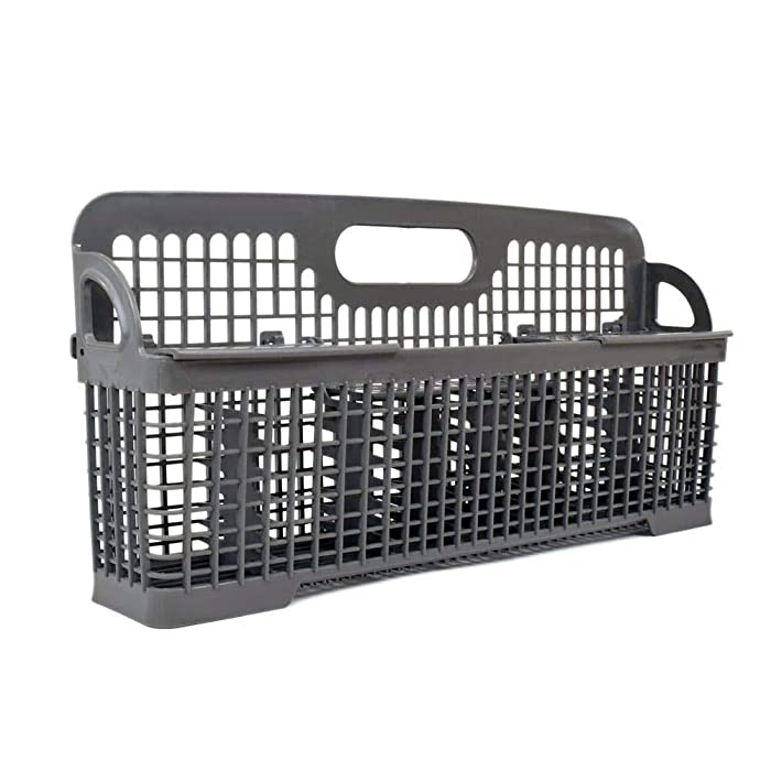 Lifetime Appliance W10190415 Silverware Basket for Whirlpool, Kenmore Dishwasher - WPW10190415