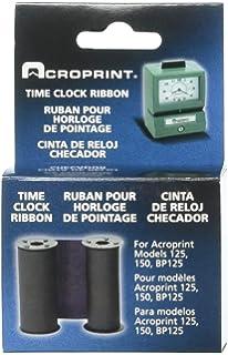 Acroprint 20-0106-002 Standard 125/150 Blue Ribbon, Blue Time Clock