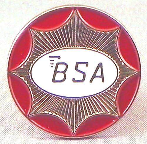BSA Pin Badge