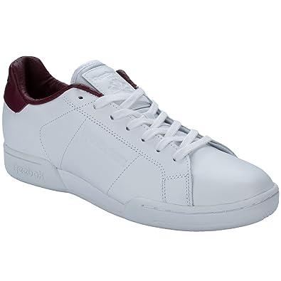 0656ea9ae1cbf Reebok Mens NPC Ii El Trainers in White  Amazon.co.uk  Shoes   Bags