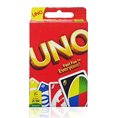 UNO Card Game, Basic Pack, Red: Toys & Games