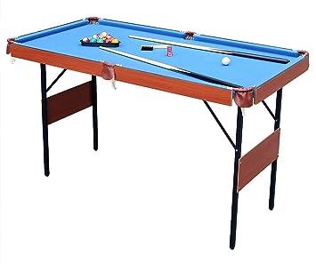 HLC 139,7 cm ahorro de espacio plegable billar mesa: Amazon.es ...