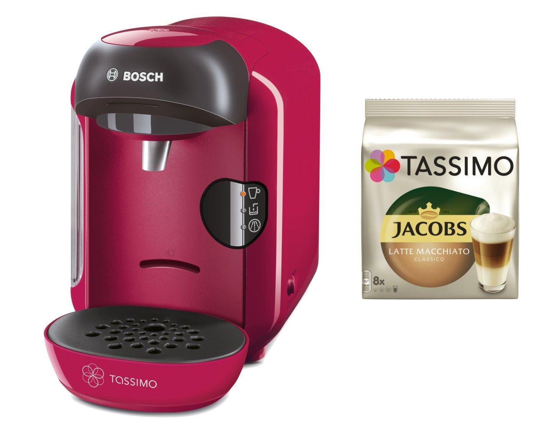 Bosch Tassimo Vivy + tdisc Paquete rosa: Amazon.es: Hogar