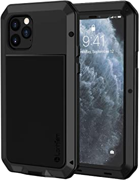 Lanhiem Funda iPhone 11 Pro MAX, [Rugged Armour] Antigolpes Metal ...