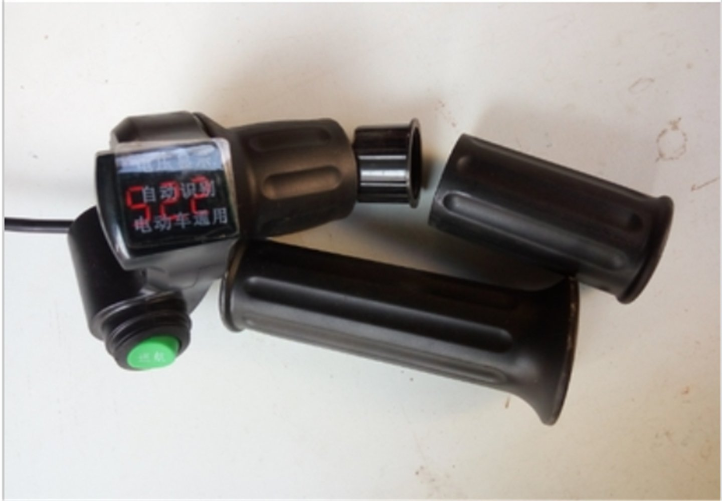 12-120v half twist throttle with Led digital display&cruise switch for electric scooter gas