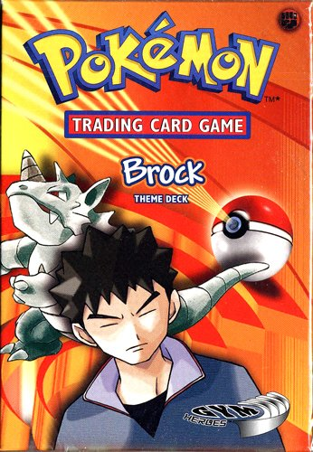 Gym Deck (Pokemon Trading Card Game Gym Heroes Theme Deck Brock)