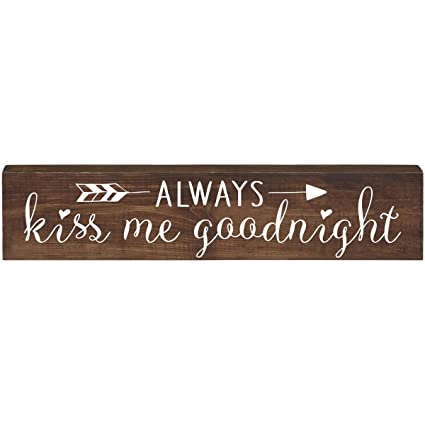 Amazoncom Lifesong Milestones Always Kiss Me Goodnight
