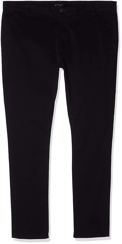 TALLA W42 (Talla del fabricante: 81). New Look Stretch Skinny Chino, Pantalones para Hombre