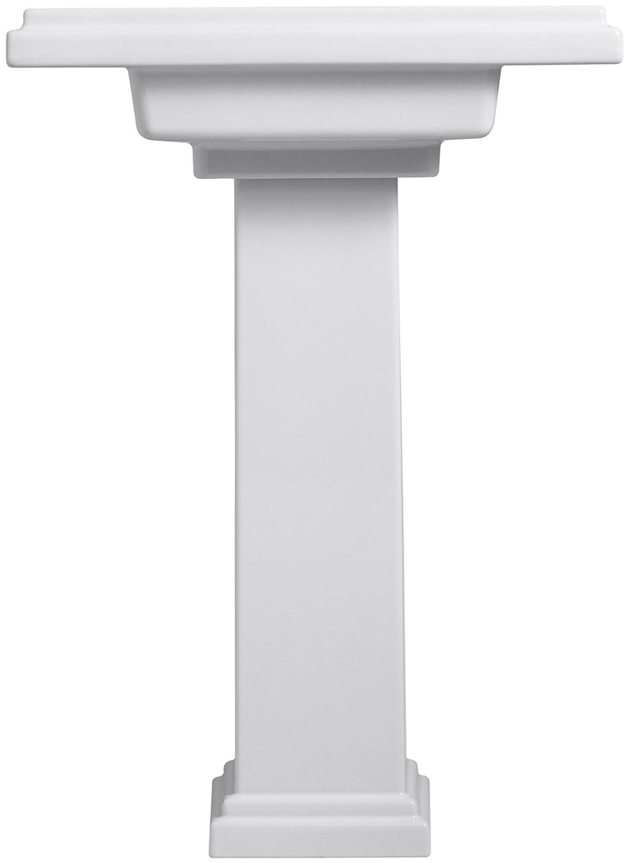 Beautiful KOHLER K 2844 8 K4 Tresham 24 Inch Pedestal Bathroom Sink With 8 Inch  Widespread Faucet Drilling, Cashmere   Pedestal Sinks   Amazon.com