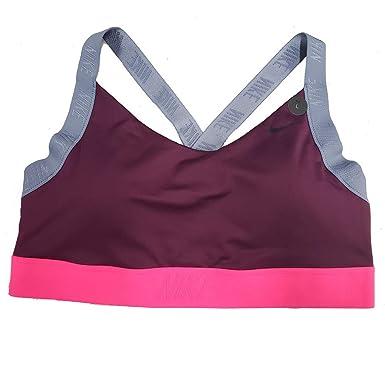 ab4f18a40914e Nike Pro Women s Indy Dri-Fit Light Support Sports Bra AJ4279 (Burgandy