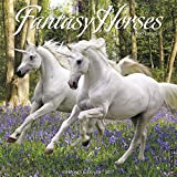 Fantasy Horses 2017 Wall Calendar