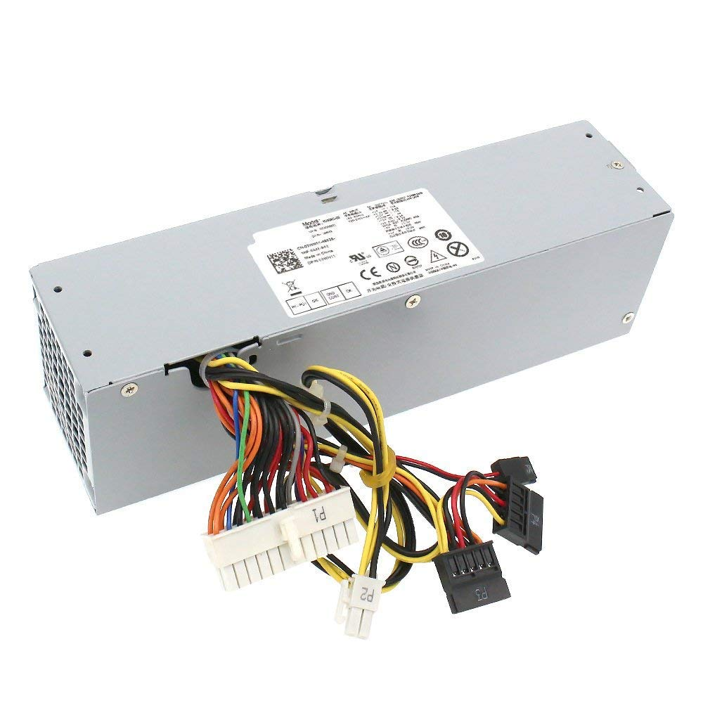 S-Union 240W Power Supply Unit for Dell OptiPlex 390 790 960 990 3010 9010 Small Form Factor System SFF H240AS-00 H240AS-01 H240ES-00 D240ES-00 AC240AS-00 AC240ES-00 L240AS-00 3WN11 PH3C2 2TXYM 709MT by S-Union