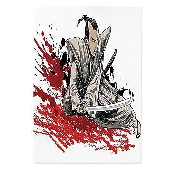 Amazon.com: Mantel japonés personalizado, diseño de la ...