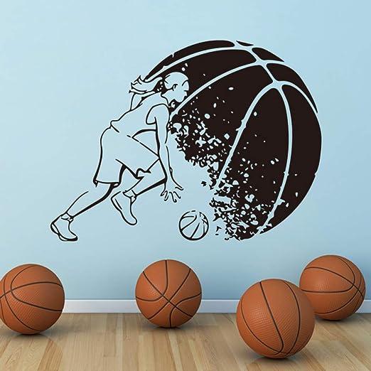YuanMinglu Jugador de Baloncesto Femenino Etiqueta de la Pared ...