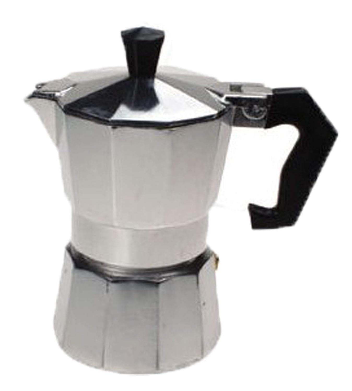 Cafetera exprés de aluminio para tres tazas: Amazon.es: Hogar