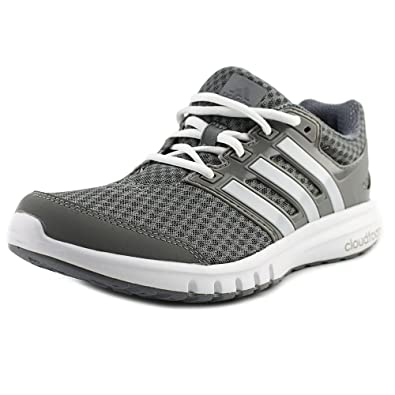 sale retailer ec648 29351 Amazon.com   adidas Men s Galaxy 2 Elite M Running Shoe, Ch Solid White Tech  Grey Fabric, 15 M US   Road Running