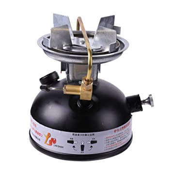 Aesy Mini Estufas de Combustible Líquido, Estufa de Gasolina Al Aire Libre Quemadores de Estufa de Queroseno Portátiles Estufa de Cocina de Hornillos ...