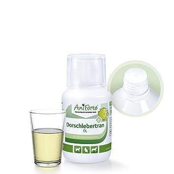 Aceite de Hígado de Bacalao 100ml. | Producto Natural para Perros y Gatos | AniForte: Amazon.es: Productos para mascotas