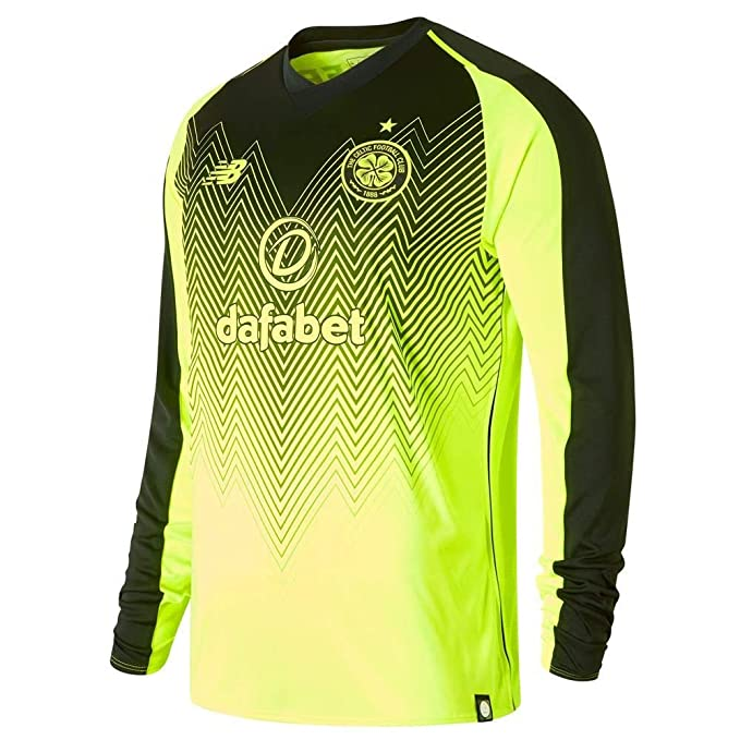 competitive price 8f051 54804 New Balance Celtic FC 2018/19 Mens Long Sleeve Third ...