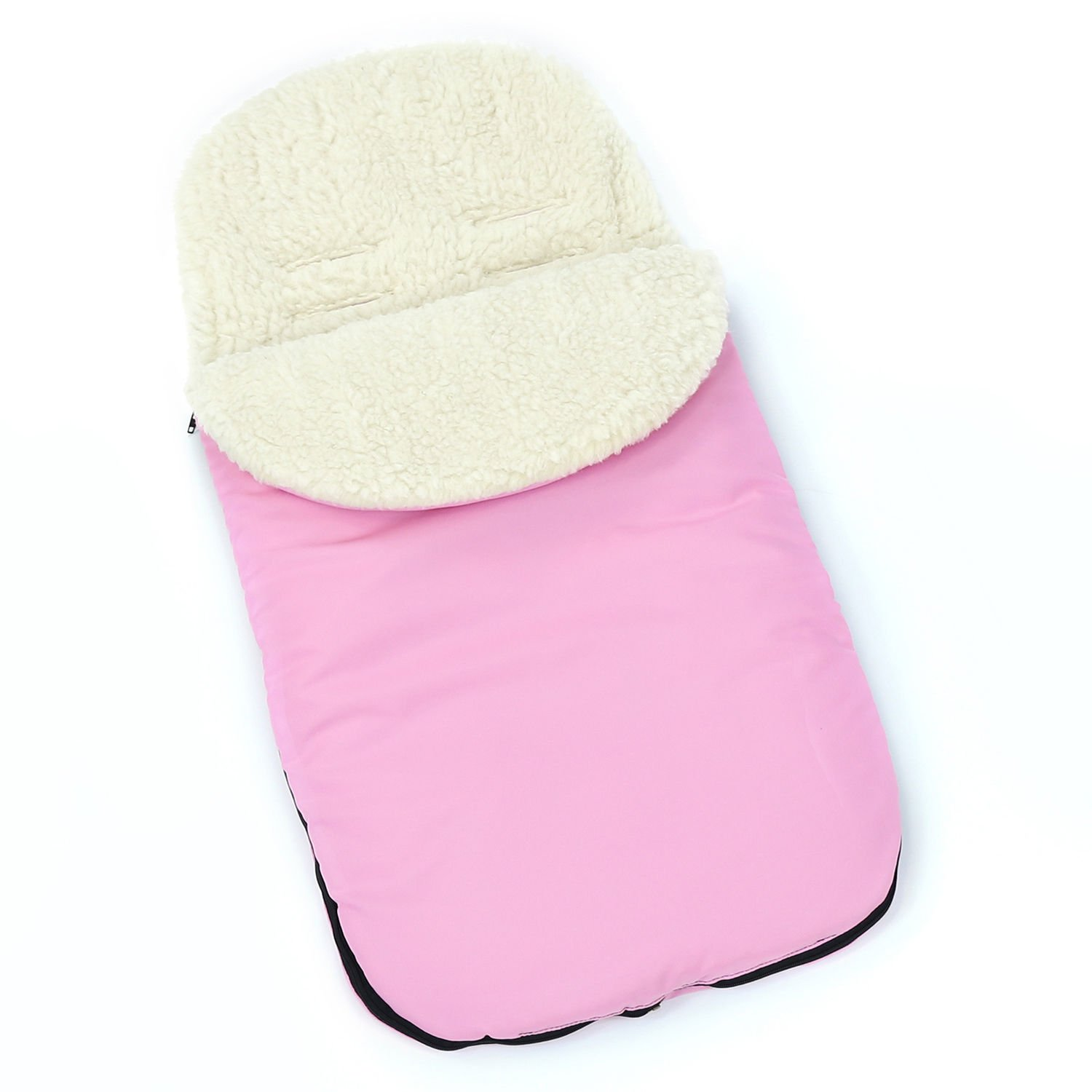 Universal FOOTMUFF Baby Cosy Toes Fit All Pushchair Buggy Car Seat Plain
