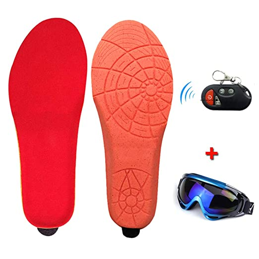 Winter Warm USB Heating Insoles Electric Powered Feet Shoes Sports Equipment