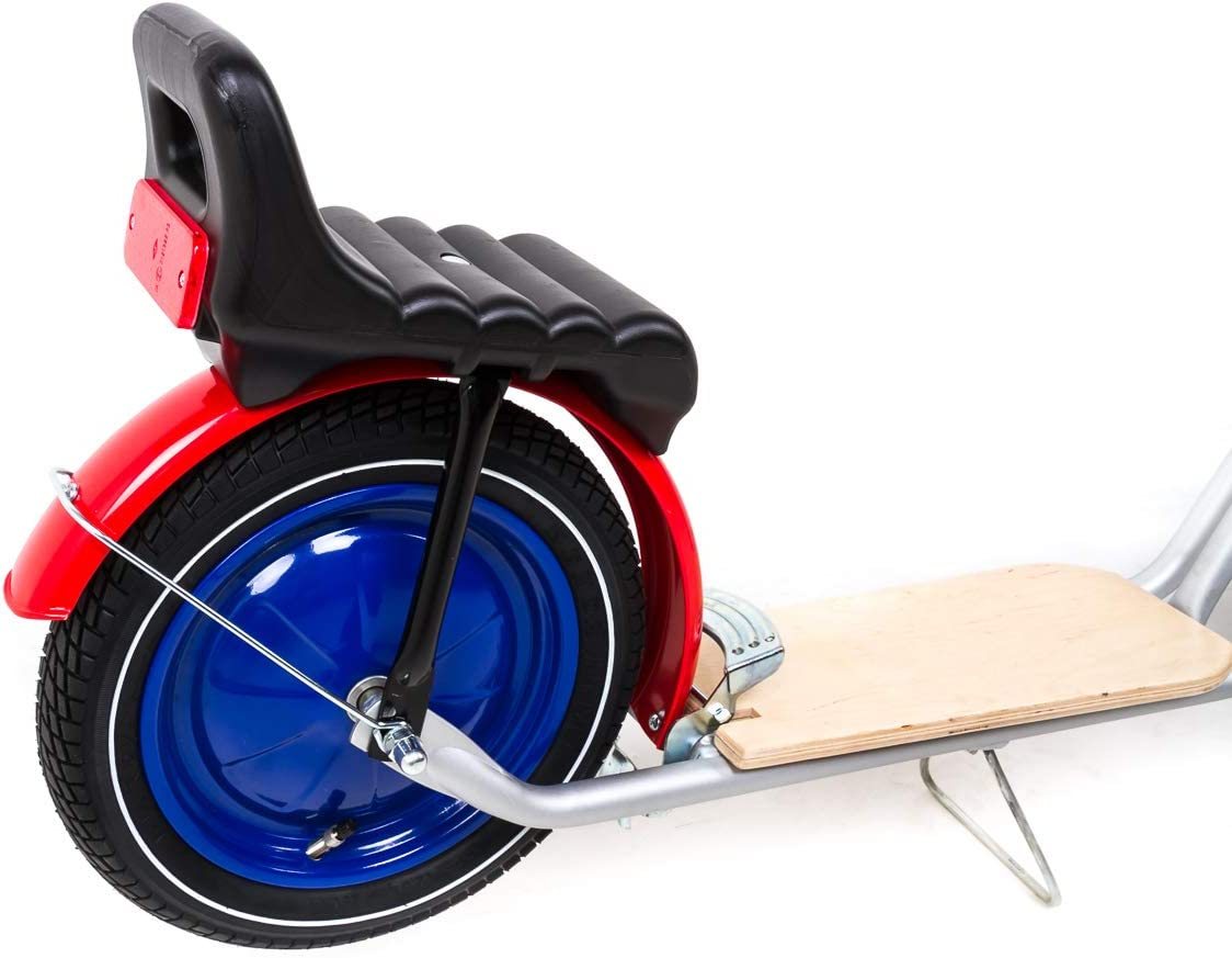 12,5 Zoll Tret Kinder Roller Scooter EASY RIDER Luftbereifung Scheibenräder