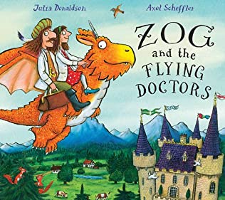 book cover of Zog and the Flying Doctors