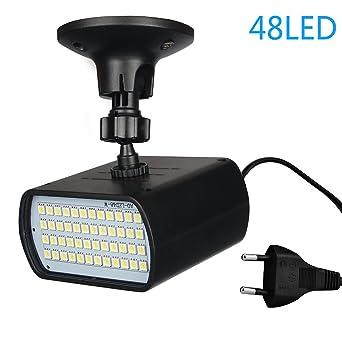 Benma - Luz LED estroboscópica de Discoteca, Luz Blanca, efecto flash y