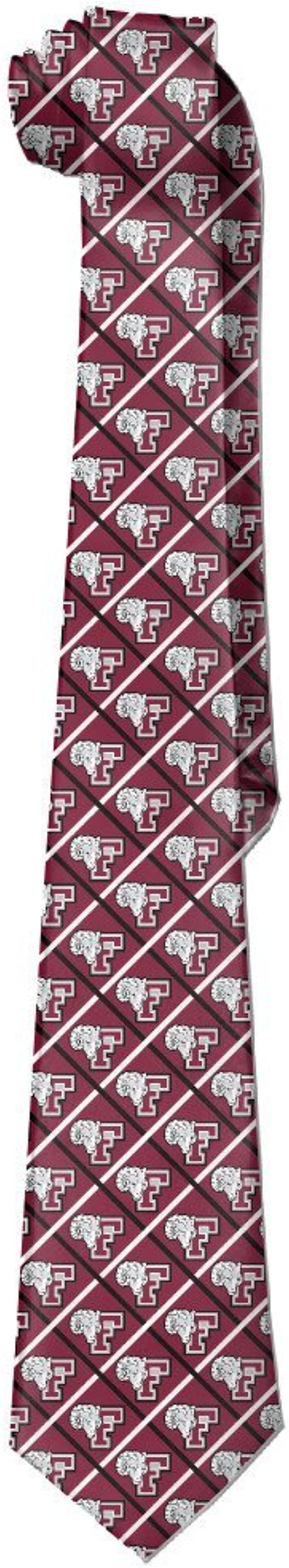 Official NCAA Fordham Rams Mens Fashion Novelty Necktie Ties
