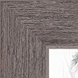ArtToFrames 22×28 inch Gray Rustic Barnwood Wood Picture Frame, WOM0066-83235-YGRY-22×28 For Sale