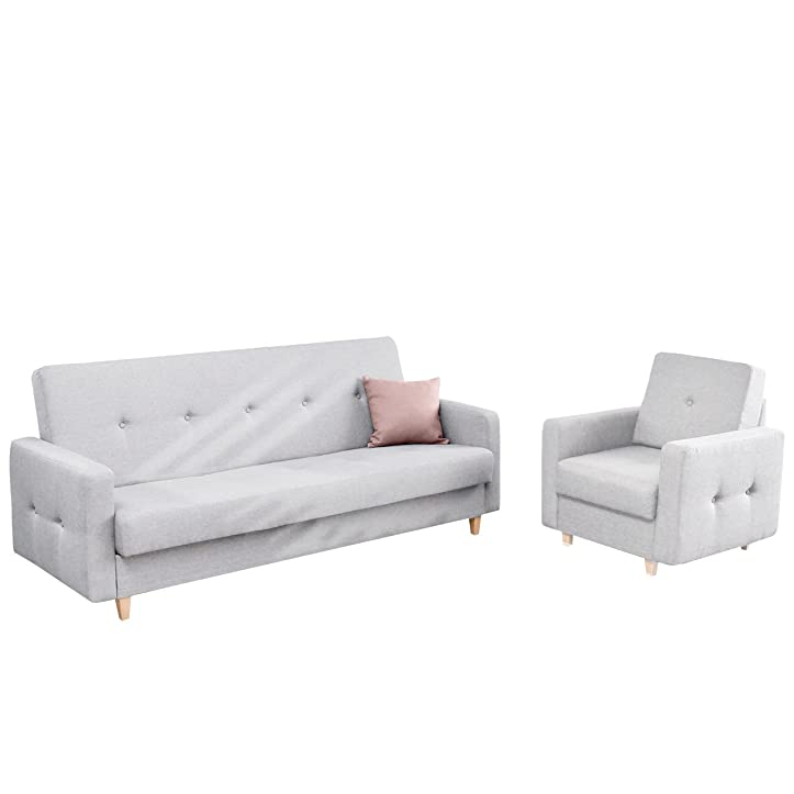 Polstergarnitur Tango Sofa mit Bettkasten und Schlaffunktion ...