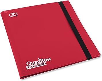 Ultimate Guard UGD10348 - Carpeta con 12 Fundas para Juego de Cartas, Color Rojo: Amazon.es: Juguetes y juegos