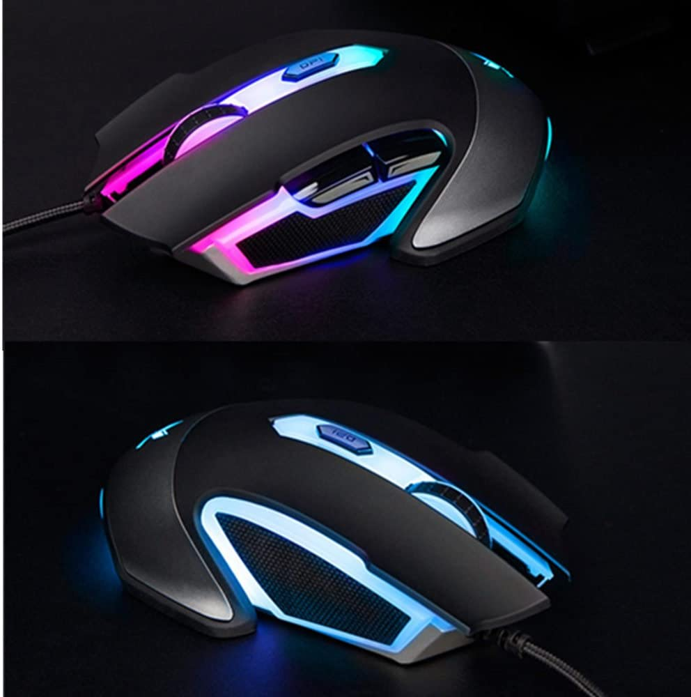 868036d9528 Amazon.com: Rapoo V302 7000 DPI 7 Programmable Buttons Optical Sensor P3320  Backlight Optical Gaming Mouse for Professional Gamer: Video Games