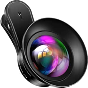 Samsung 4K HD 20X Macro Lens,for iPhone Pixel,BlackBerry etc,with Clip,Cell Phone Lens