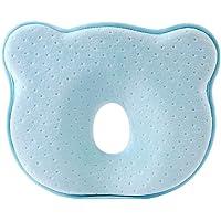 Nyfödd babykudde förhindrar platt huvud påform-kuddskydd bomullsflön sömnstoppning sängklädesplagg sovhuvud…