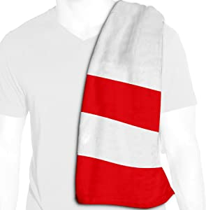 ExpressItBest Microfiber Cooling Towel - 12in x 36in - Flag of Peru (Peruvian) - Many Options