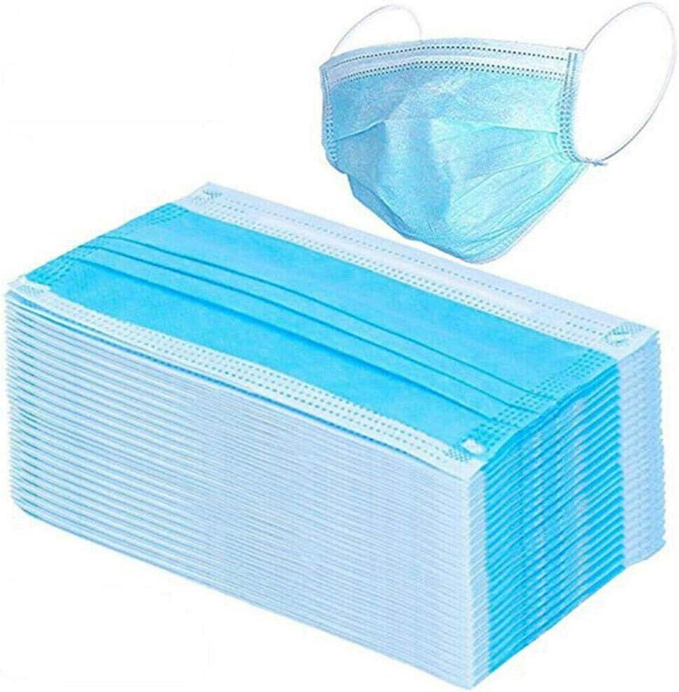 10 Piezas / 100 Piezas / 500 Piezas / 1000 Piezas de 3 Capas Desechables Ma-SKS no Tejido Anti Polvo protección bucal mufle, PM2.5 Filtro de carbón Activado mascarillas faciales