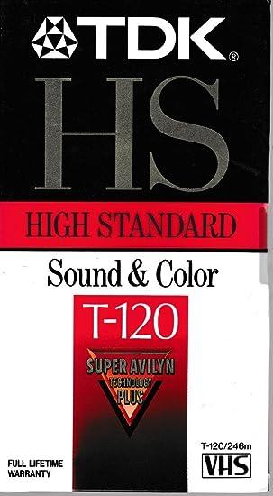 Hochwertige Standard Vhs Videotape Kassette 120 Minuten Bürobedarf Schreibwaren