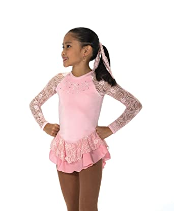 Amazon.com: Jerry\'s Ice Skating Dress 152 Ribbon Lace Dress: Clothing
