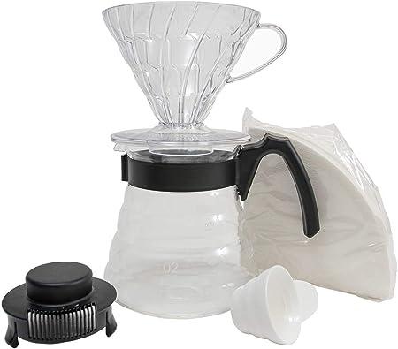 Hario Craft Kit V60 gotero de plástico con servidor de café de ...