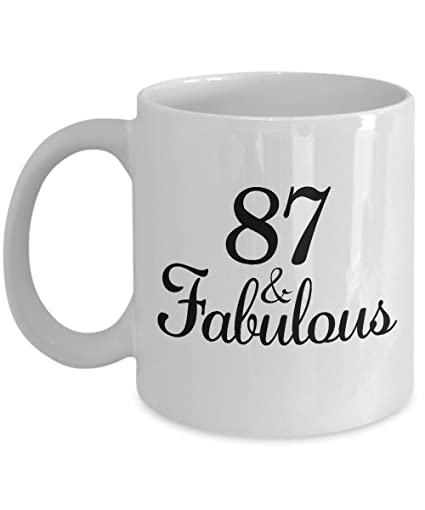 Image Unavailable Not Available For Color 87th Birthday Gifts Ideas Women