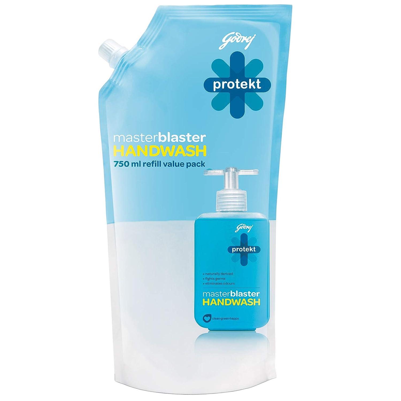 [Min 2 qty] Godrej Protekt Master Blaster Handwash - 750 ml