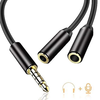 Audio Y Câble Répartiteur vers 2 Prises Jack
