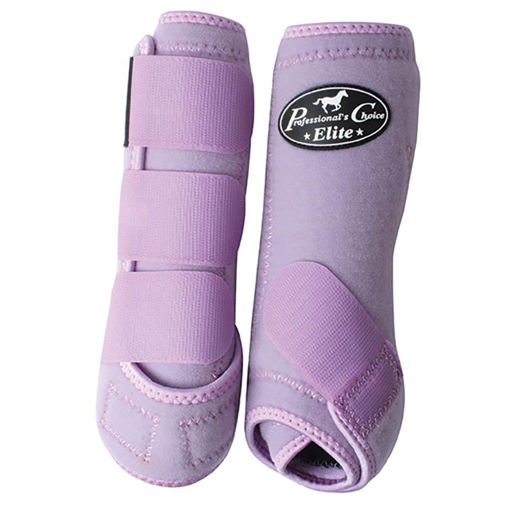 Professionals Choice Equine Sports Medicine Ventech Elite Leg Boot Value Pack, Set of 4 (Medium, White) by Professional's Choice