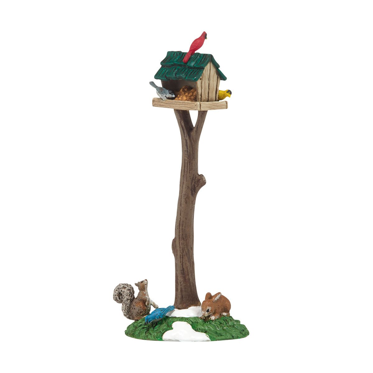 Department 56 Accessories for Villages Woodland Bird Feeder Accessory, 1.73 inch