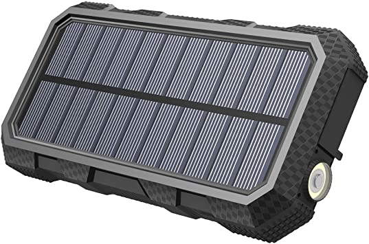 A ADDTOP Cargador Solar 26800mAh Power Bank PD 18W Batteria ...