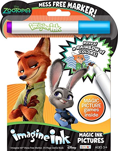 Bendon Zootopia Magic Ink Activity Book